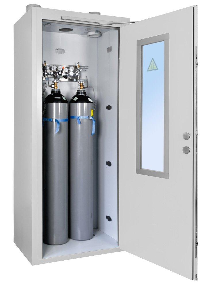 PRIOROOM GAS Silindir Gaz Tüpleri İçin Kompakt Güvenlik Kabini