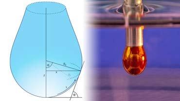Pendant drop metodu ile yüzey gerilimi ölçümü